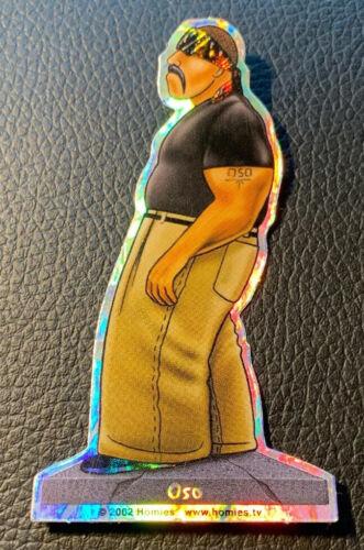 Homies Sticker 4 Inch Oso 2002 RARE