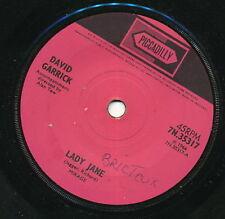 DAVID GARRICK 45 TOURS UK LADY JANE ROLLING STONES