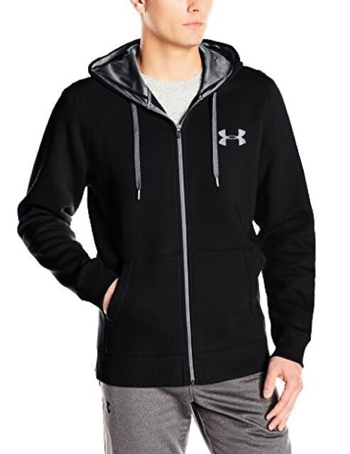 7ddd31eb Under Armour Apparel Mens Rival Fleece Fitted Full Zip Hoodie- Pick  SZ/Color.