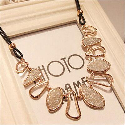 Fashion Women Charm Chunky Choker Collar Statement Bib Necklace Pendant Jewelry