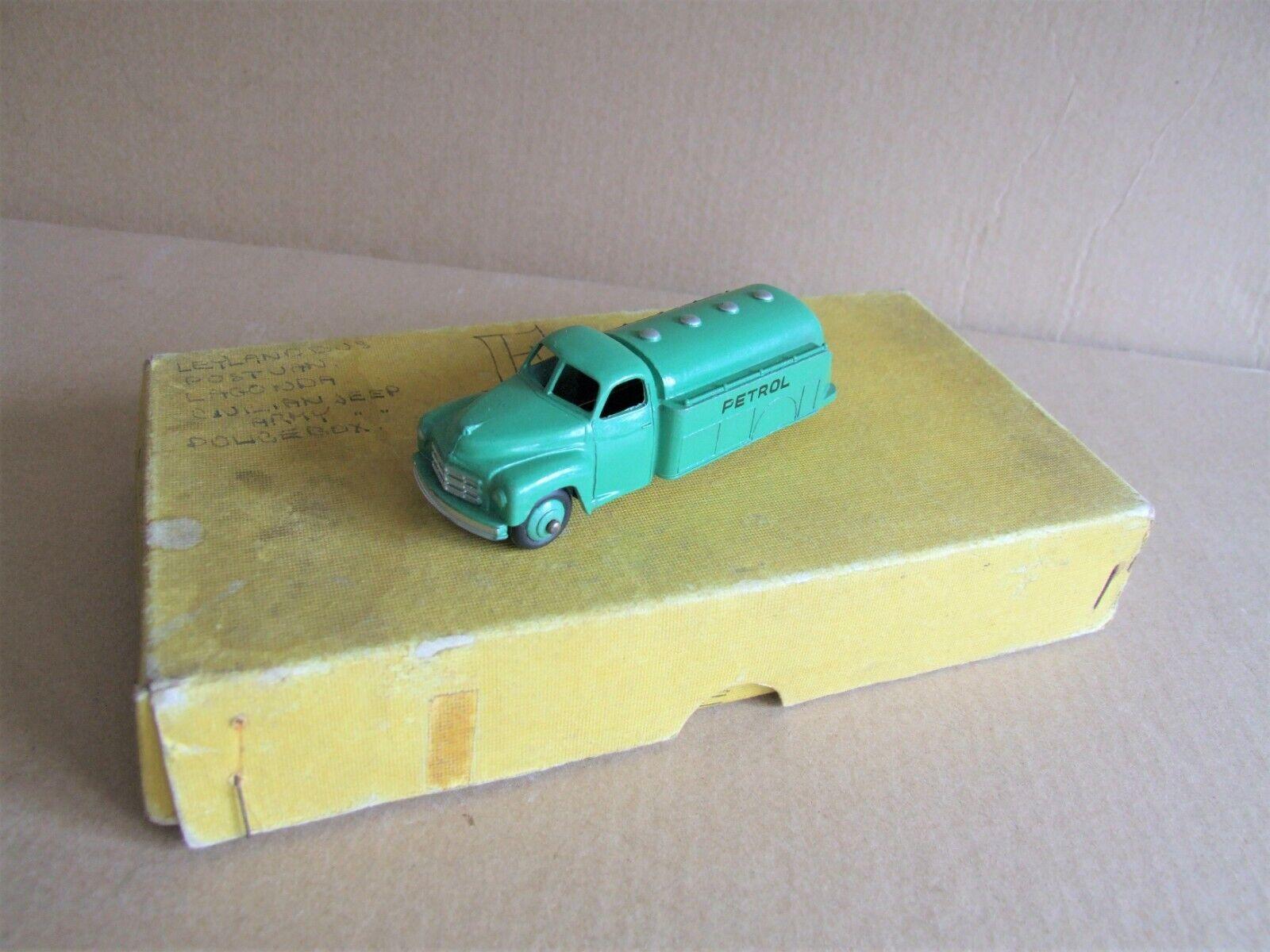 Dinky 30p Petrol Tanker & Trade Box