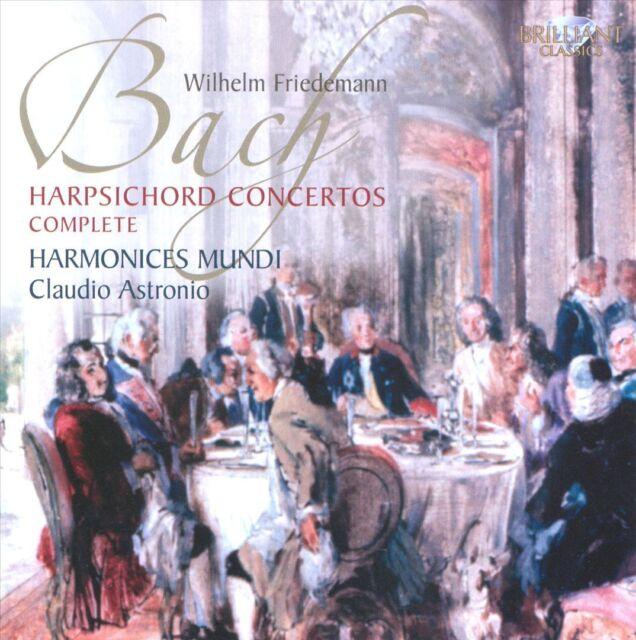 HARMONICES MUNDI - Wilhelm Friedemann Bach: Harpsichord Concertos