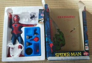 Popy Spider man Vintage Figure with box from Japan [New] #B01833