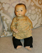 "VERY RARE Armand Marseille 16"" Oriental Asian Character Baby Doll Mold 353"