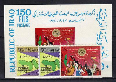 18 Postfrisch ......................... Niedrigerer Preis Mit Irak 601/03 Bl Briefmarken