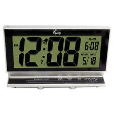 "30041 Equity by La Crosse Battery Powered Smartlite 2"" LCD Digital Alarm Clock"