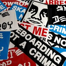 10 STICKER PACK - Snowboard and Scooter Assorted Mixed Stickers
