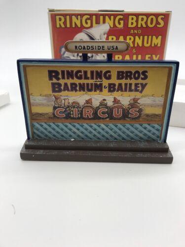 LEFTON ROADSIDE USA RINGLING BROS BARNUM /& BAILEY CIRCUS BILLBOARD CIRCA 1932