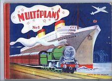 POP HOP. Album MULTIPLANS n°1. Gai Moulin Années 50. Très bel état