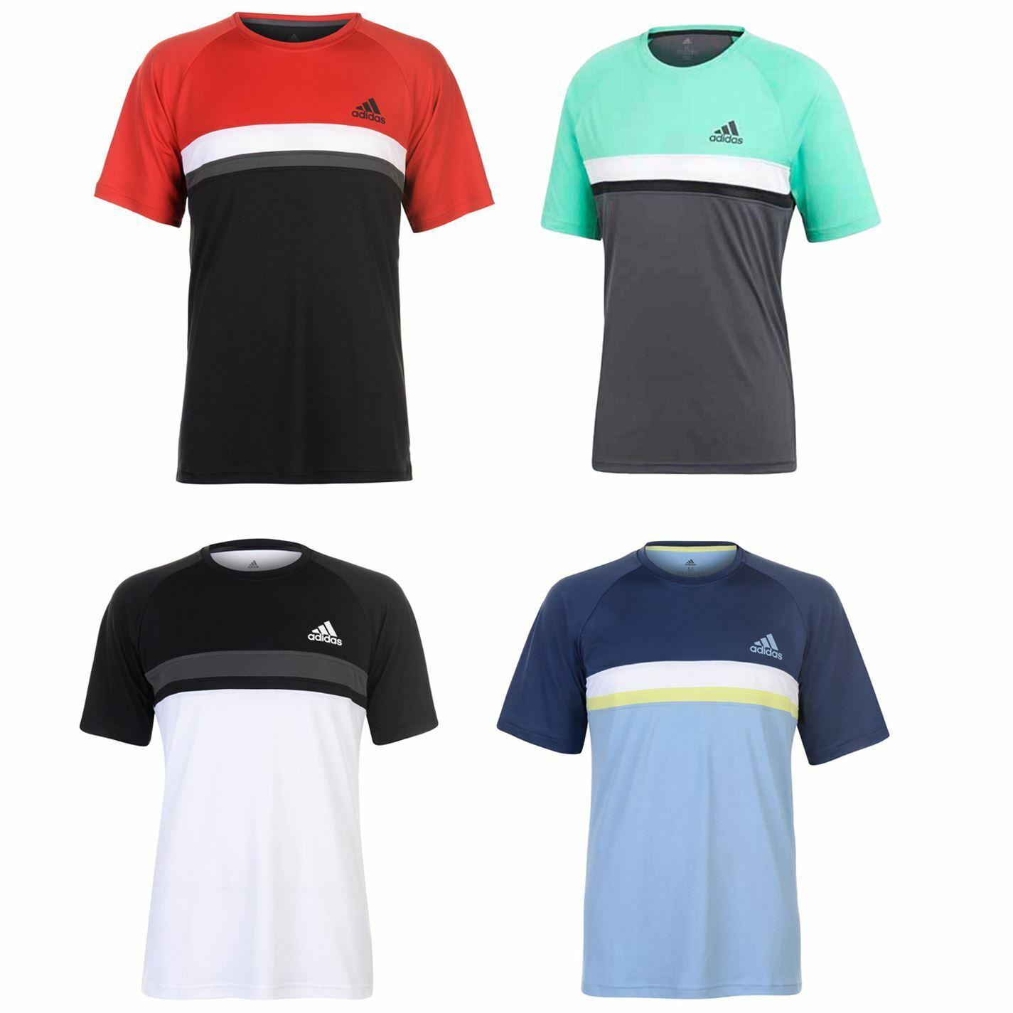 Adidas Club Tennis T-Shirt Mens Top Tee Shirt Sportwear