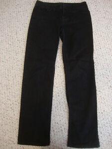 Women-039-s-SIMPLY-VERA-VERA-VERA-straight-black-stretch-jeans-6