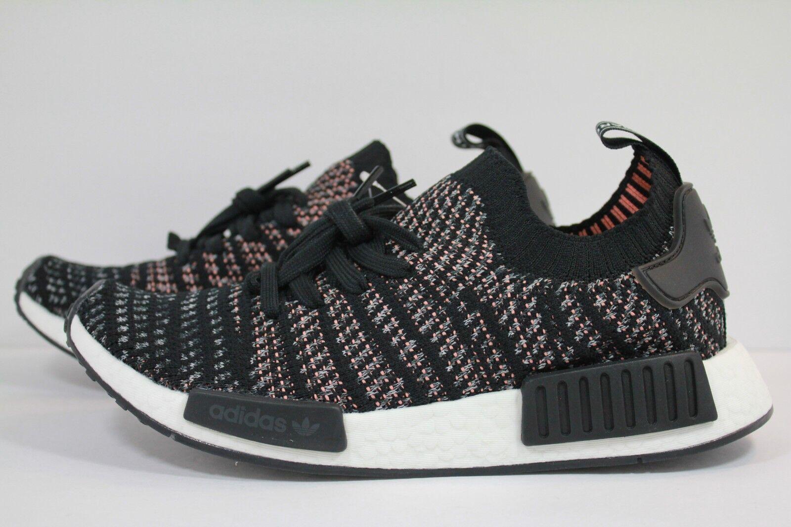 Adidas nmd_r1 stlt fünf primeknit schwarz / grau / graue fünf stlt b37636 zwei 567724