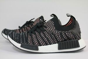 24cac493cf3ef4 ADIDAS NMD R1 STLT PRIMEKNIT BLACK GREY TWO GREY FIVE B37636