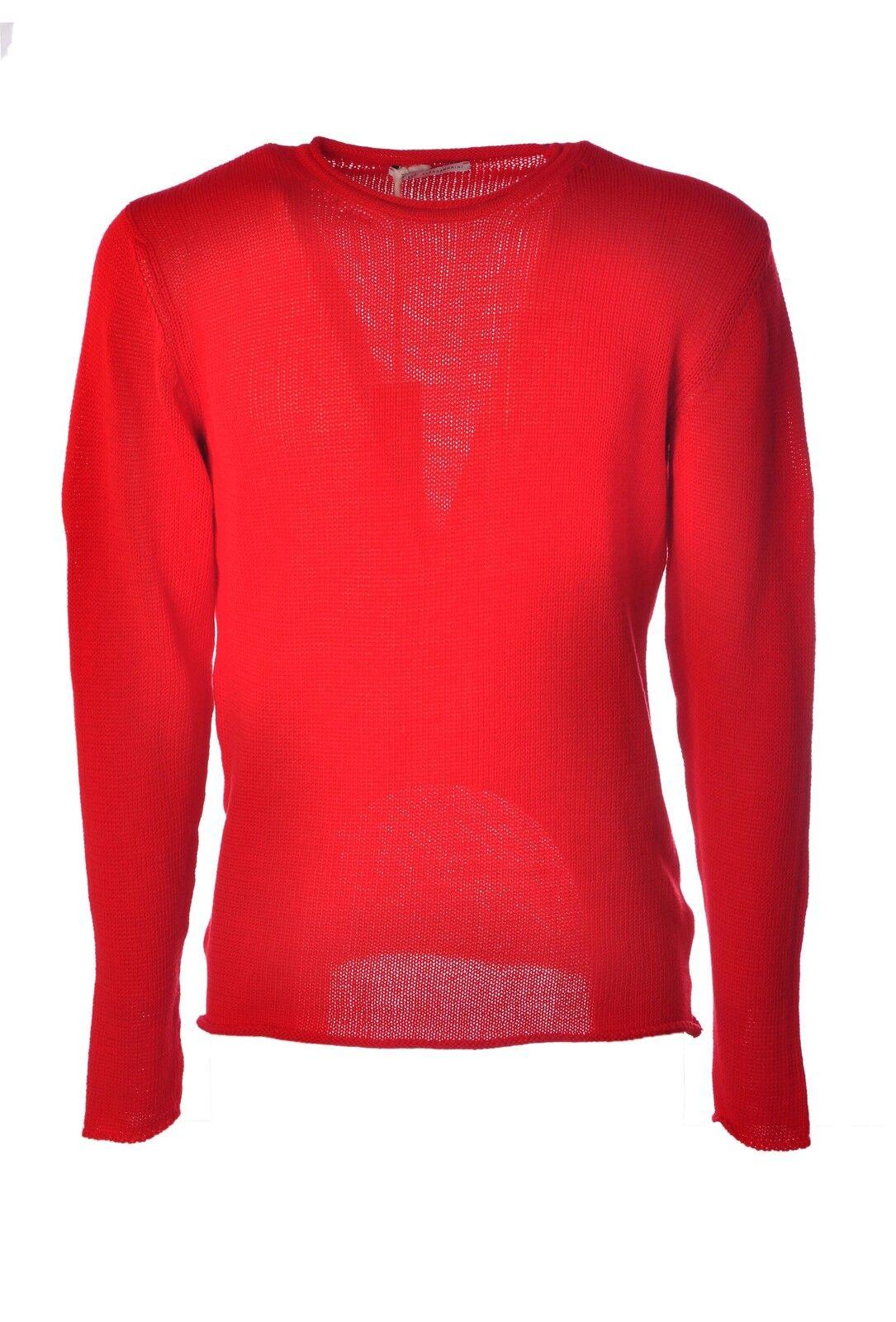 Daniele Alessandrini  -  Sweaters - Male - ROT - 3816429A181304