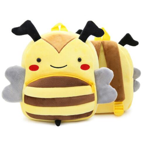 Cute Unisex Toddlers Baby Kids Backpack 3D Animal Shaped Cartoon Mini Bag