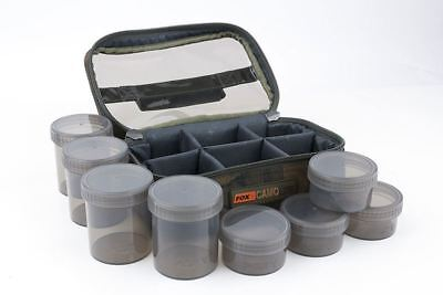 Fox CamoLite Glug 8 Pot case Carp Luggage