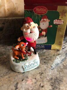 New-Carlton-Cards-Greeting-2005-Rudolph-Santa-Jingle-Jingle-Lighted