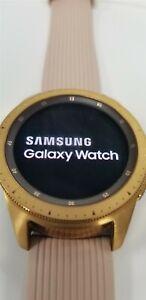 Samsung Galaxy Watch 42mm SM-R815U Rose Gold (LTE) DISCOUNTED!! TW1165