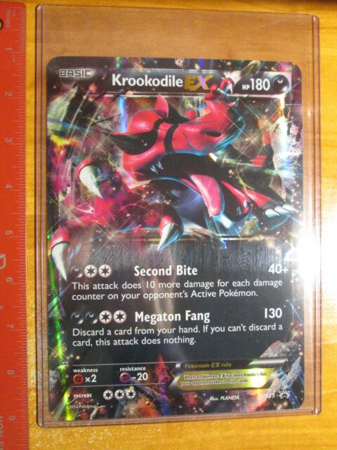 PL Pokemon XY BLACK STAR PROMO Card Yveltal Xerneas Garchomp Delphox EX XY#1