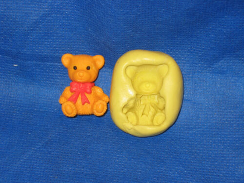 Baby Bear Silicone Mold #21 For Chocolate Candy Resin Fimo Fondant Soap Candle