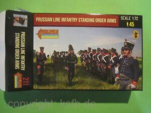 NEU-1-72-Strelets-211-Napoleon-Preussen-Infanterie-angetreten-Prussian-Soldaten