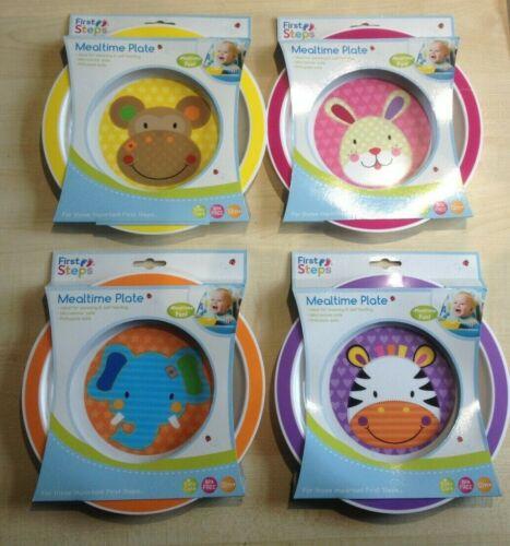 jungle pals first steps bowl /& plate set toddler baby feeding animal child UK