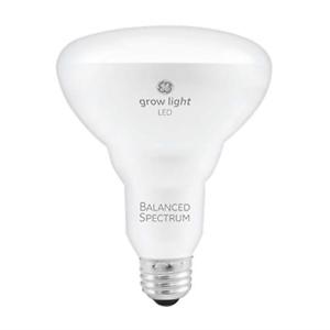 GE BR30 LED Grow Lights for Indoor Plants, Full Spectrum, 9-Watt Grow Light Bulb