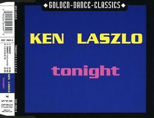 Ken-Laszlo-Maxi-CD-Tonight-1-2-3-4-5-6-7-8-Germany-M-M