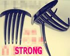 2P Women French Twist Magic DIY Styling Evening Party Black Hair comb Clip Claw