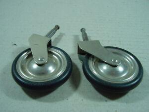 2-x-TENTE-Moebelrolle-50er-Jahre-Rolle-fuer-Moebel-Teewagen-o-ae-66-mm-Durchmesser