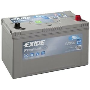 exide premium carbon boost 95ah 800a autobatterie ea954. Black Bedroom Furniture Sets. Home Design Ideas