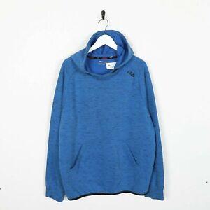 Vintage-FILA-Small-Logo-Hoodie-Sweatshirt-Blue-XL