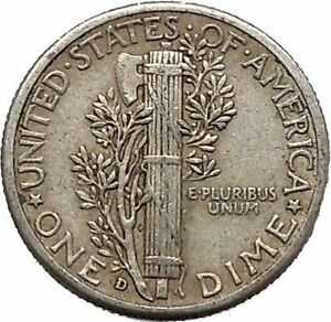 Mercury-Winged-Liberty-Head-1942-Dime-United-States-Silver-Coin-Fasces-i43081