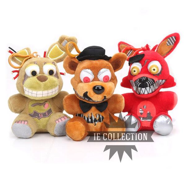 Five Nights at Freddy's 3 Soft toy Nightmare Fazbear Foxy Bonnie Animatronic