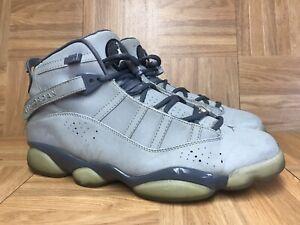 premium selection ee4b7 93a17 Detalles acerca de Raro 🔥 Nike Jordan 6 Rings 3M Plata Air Grafito Talla  10.5 322992-001 baloncesto- mostrar título original