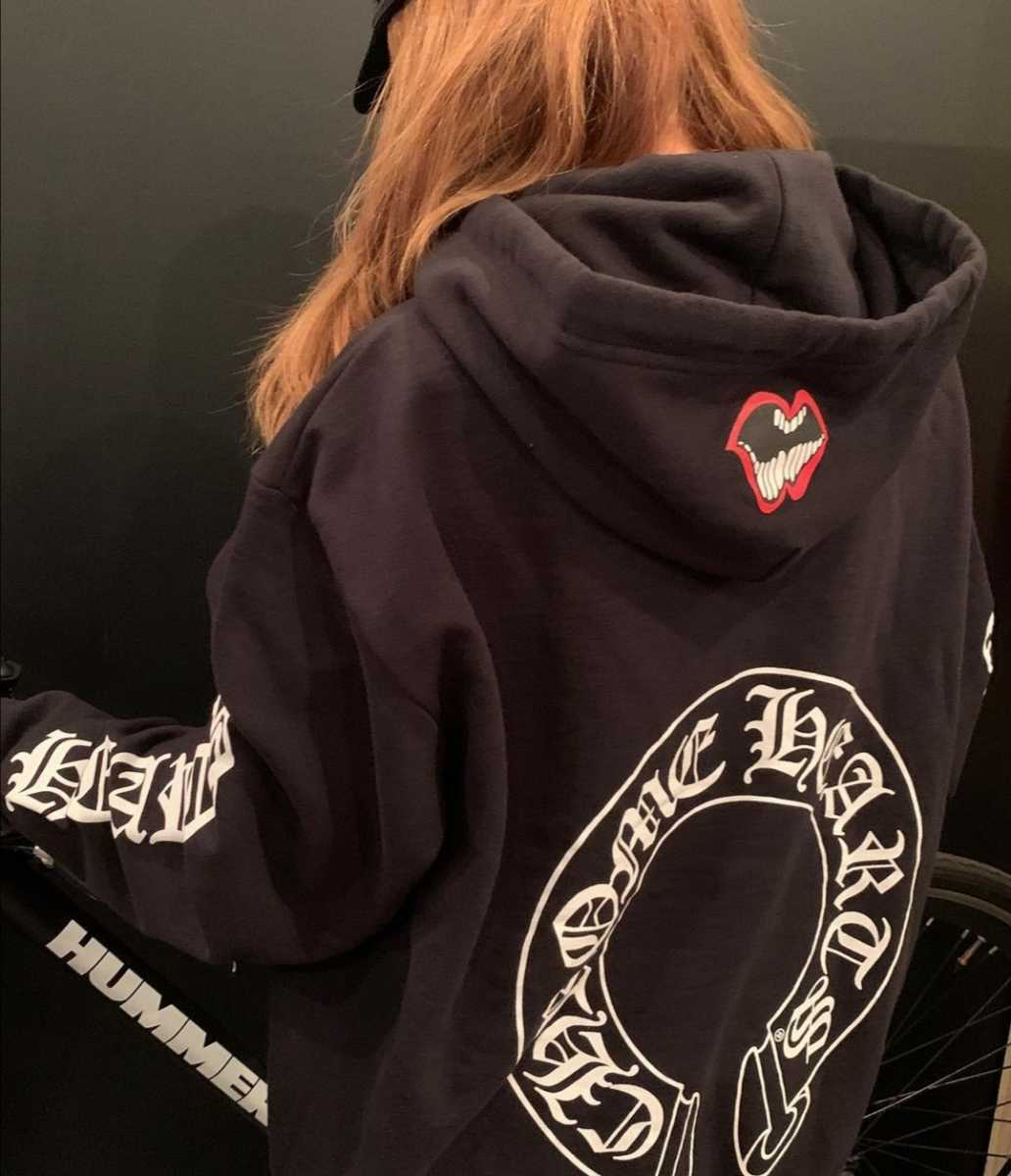 Authentic Chrome Hearts lip hoodie pullover jacket Size S Outer Long sleeves