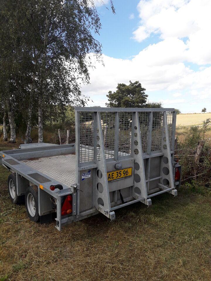 Maskintrailer, Ifor Williams Gx106, lastevne (kg): 2700