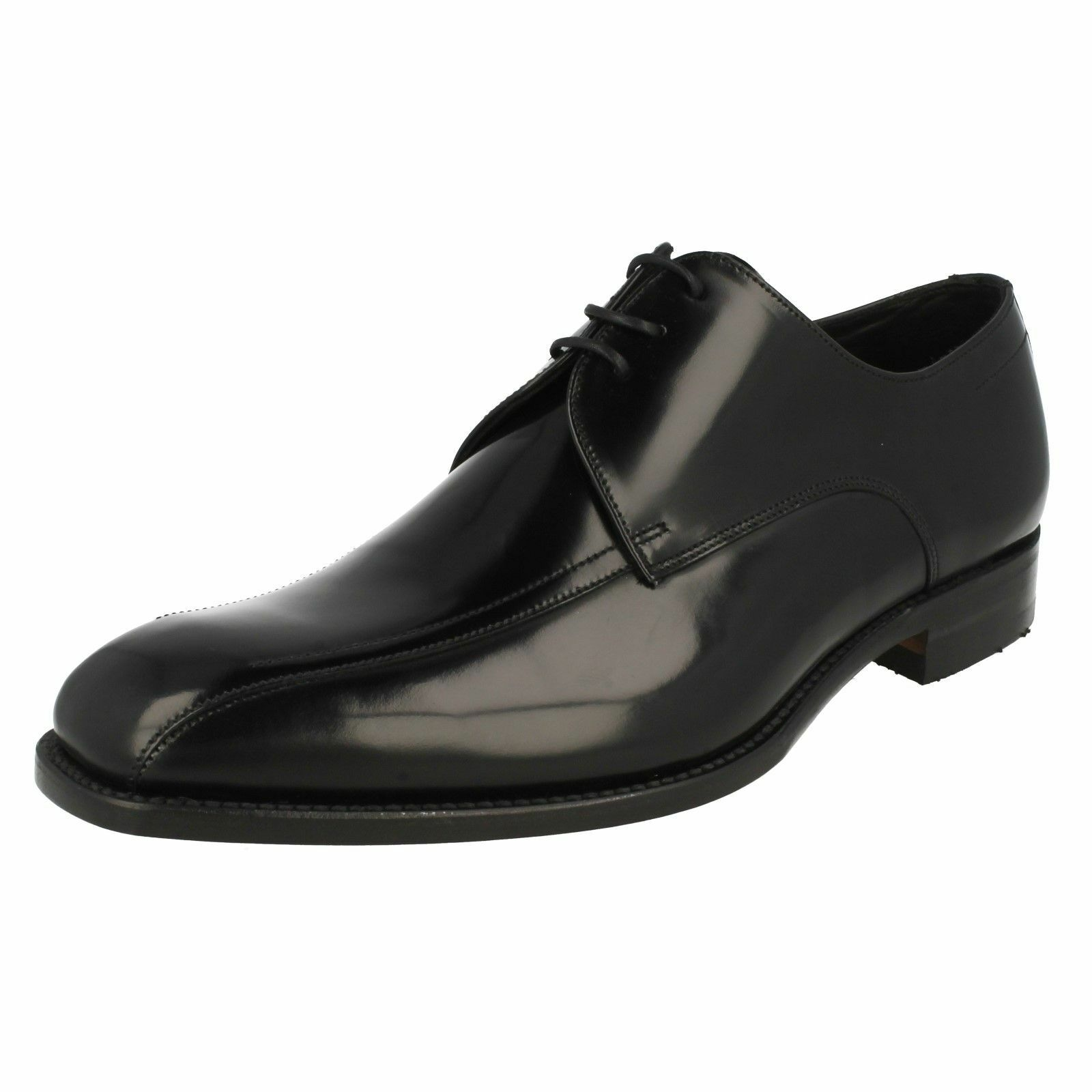 LOAKE McQueen Mens Polished Leather Lace Up shoes