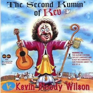 KEVIN-BLOODY-WILSON-THE-SECOND-KUMIN-OF-KEV-CD-AUSTRALIAN-COMEDY-2nd-NEW