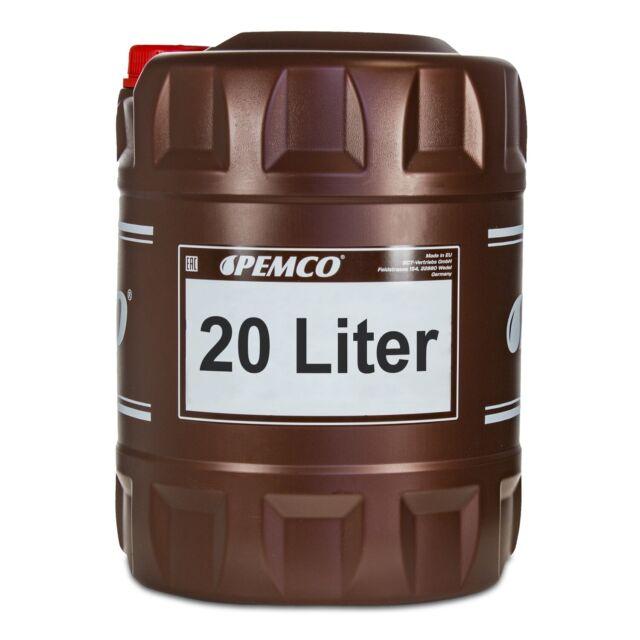 20 (1x20) Litre Pemco Antigel 913 Antigel Fertiggemisch Vert 40°C)
