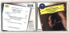 Cd SCHUBERT Symphony 3 & 8 Unvollendete Unfinished CARLOS KLEIBER Symphonien
