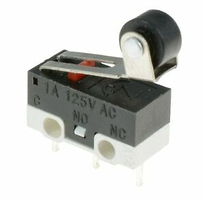 5 x ultra mini roller lever actuator microswitch spdt sub. Black Bedroom Furniture Sets. Home Design Ideas