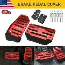 Universal Car Red Non Slip Automatic Gas Brake Foot Pedal Pad Cover 2pcs G Fits 2007 Sportage