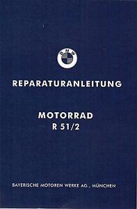 Réparation Instructions/Manuel Atelier BMW r 51/2; r51/2; r 51/2 NEUF  </span>