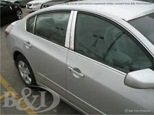 Fits Nissan Maxima 16-18 QAA Stainless Chrome Polished Pillar Posts 6PCS PP16541
