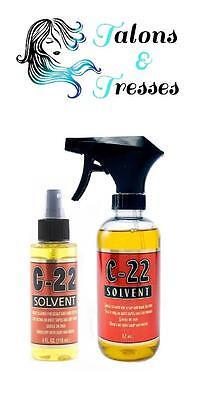 Solvent C-22 Keratin / Silicone Glue Bond Hair Extension Removal Spray 118/354ml
