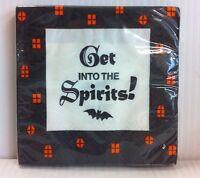 Hallmark Halloween (get Into The Spirits) Beverage Paper Napkins 16 Count