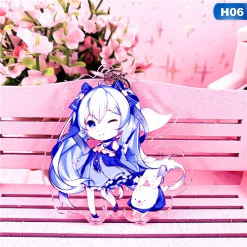 Cartoon Hatsune Miku Anime Figur Acryl Schlüsselring Schlüsselanhänger Wzx