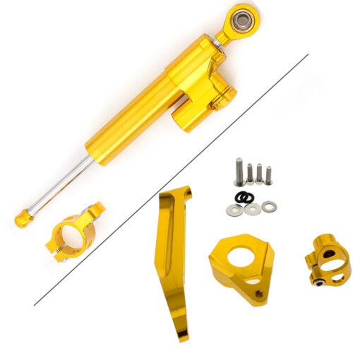 FXCNC Steering Damper Stabilizer Mounting Kit Fit Honda CBR600RR 2005-2006