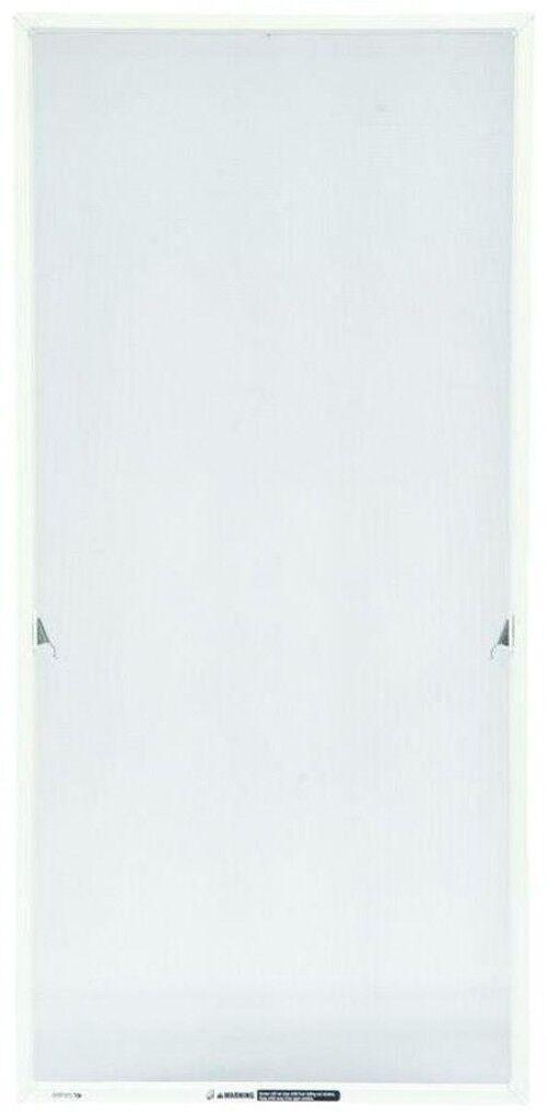 20.69 x 31.47 in White Casement Window Aluminum Mesh Screen Insect Predector Net